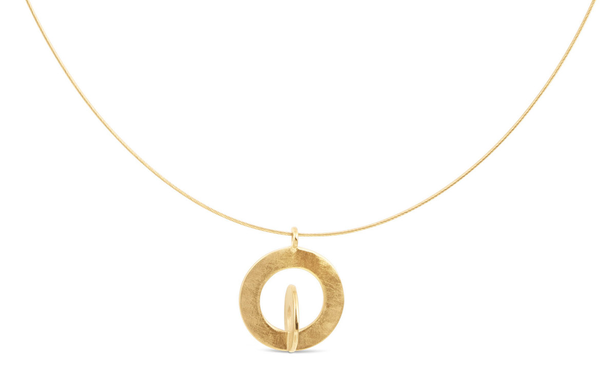 Joidart Cercles Small Gold Choker