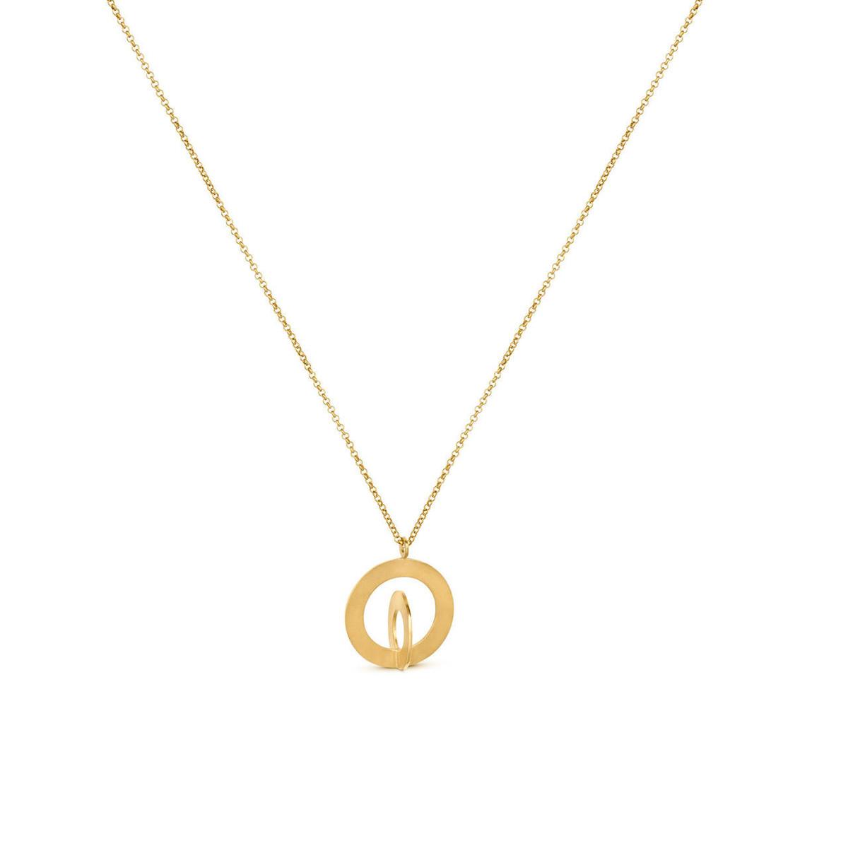Joidart Cercles Large Gold Pendant