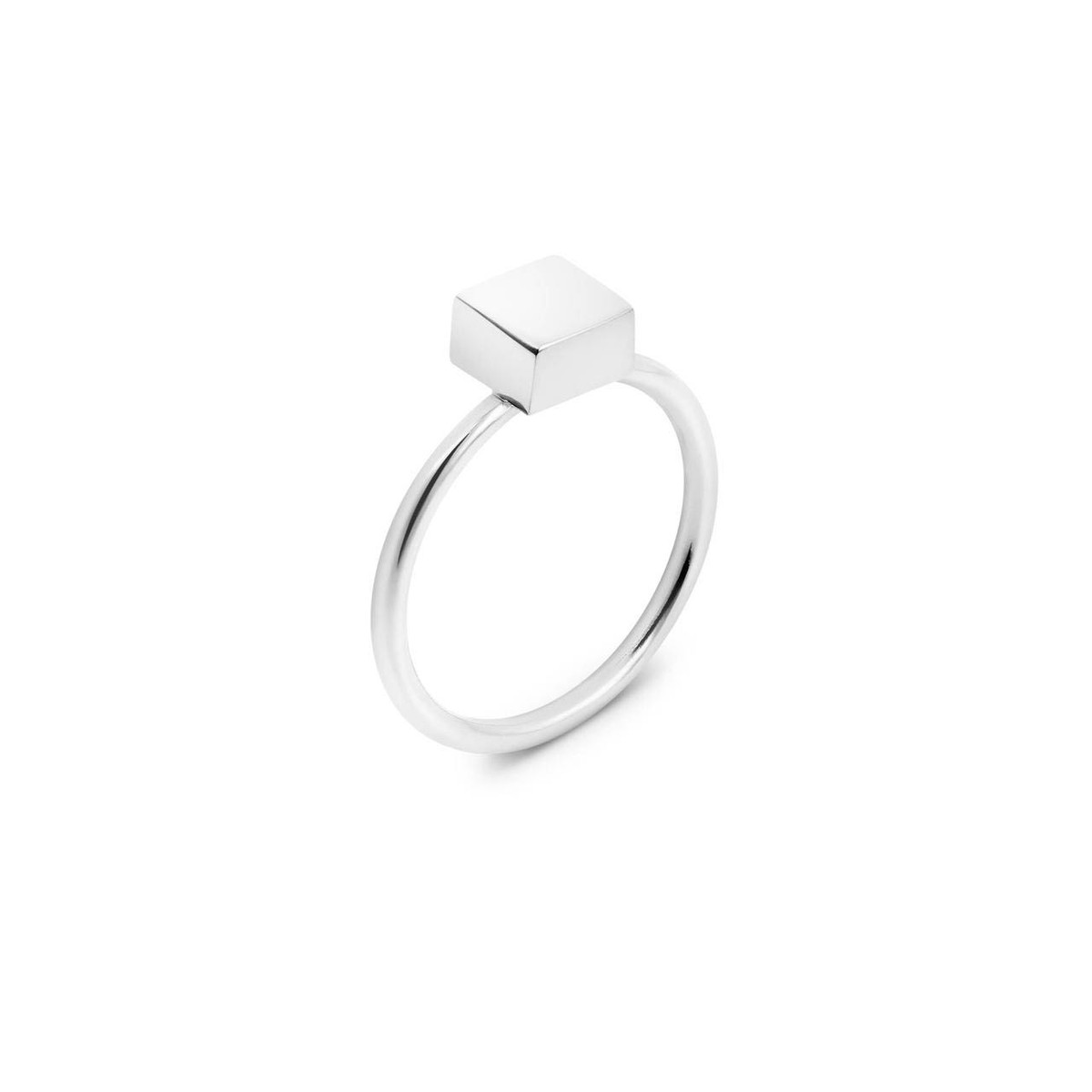 Joidart Toujours Square Silver Ring