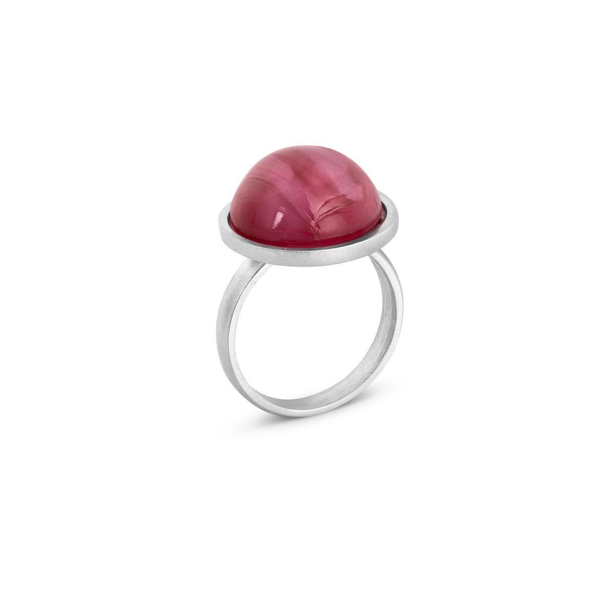 Joidart Anais Ring Red Silver