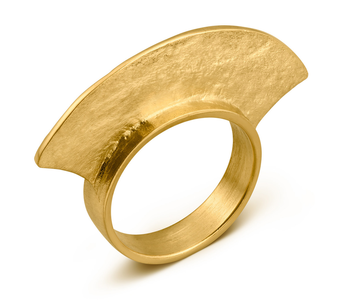 Joidart Minoica Gold Ring Size 7