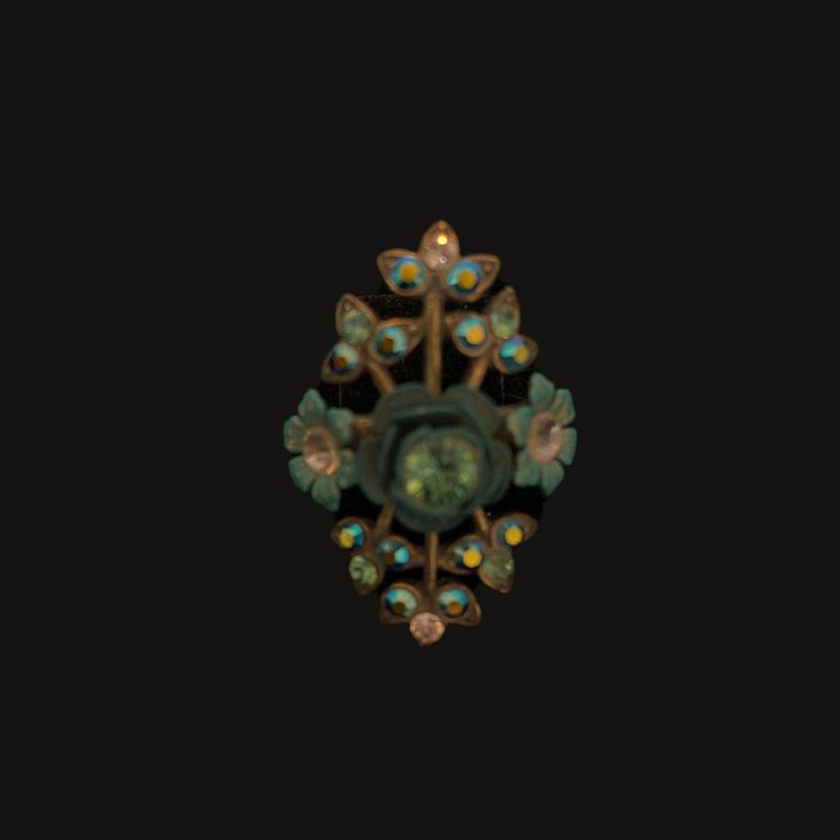 Michal Negrin Victorian Flower Power Ring