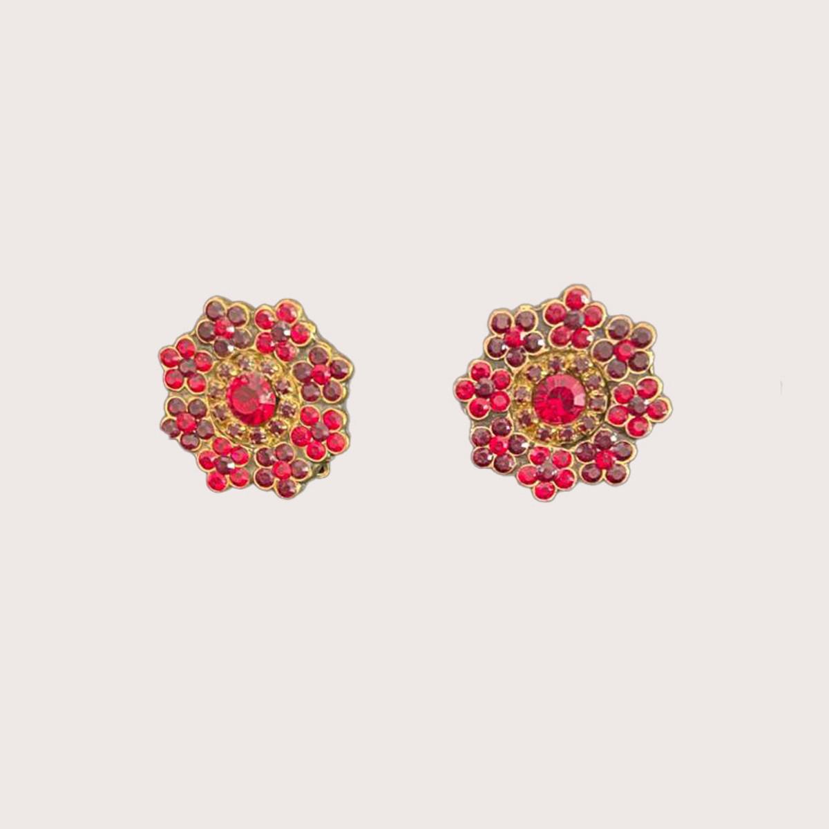 Michal Negrin Sugar Rush Clip on Earrings