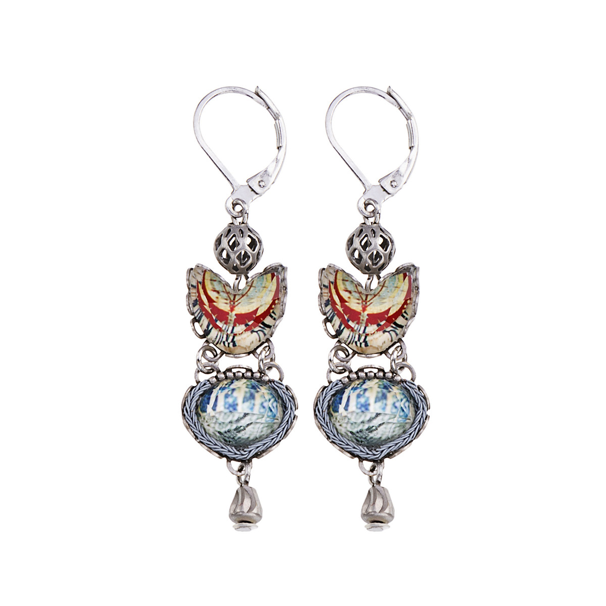 Ayala Bar Marble Beach Flake Earrings