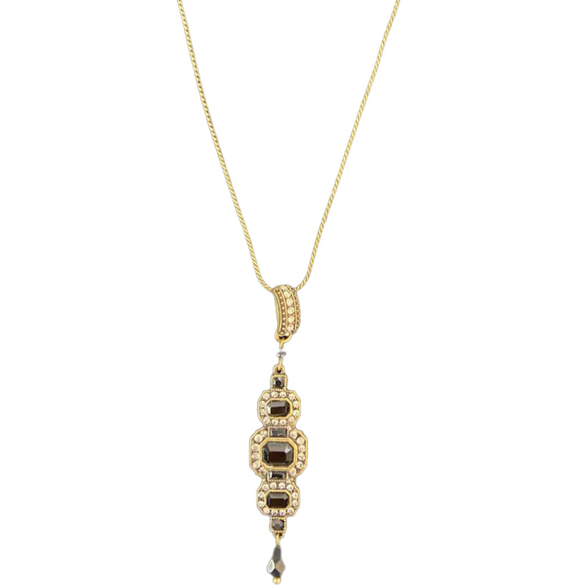 Michal Negrin Glamour Girl Black Necklace