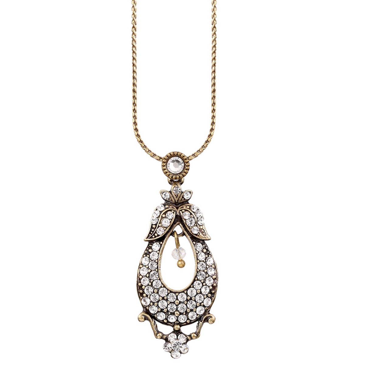 Michal Negrin White Pear Necklace
