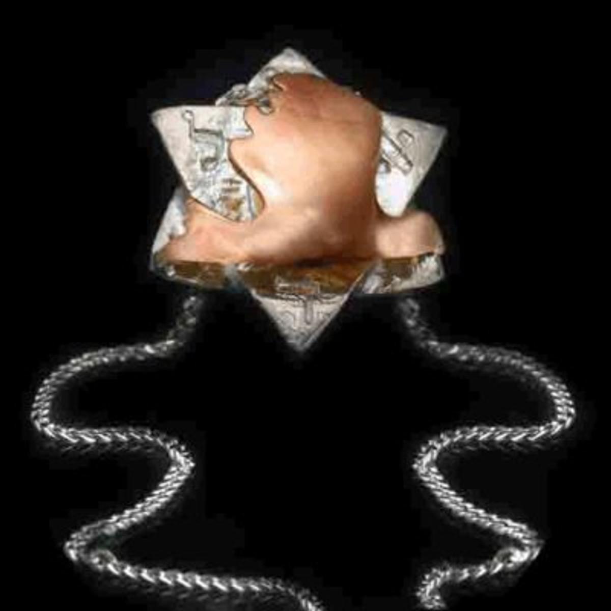 5 Metal Dove Pendant By Haari Kabbalah