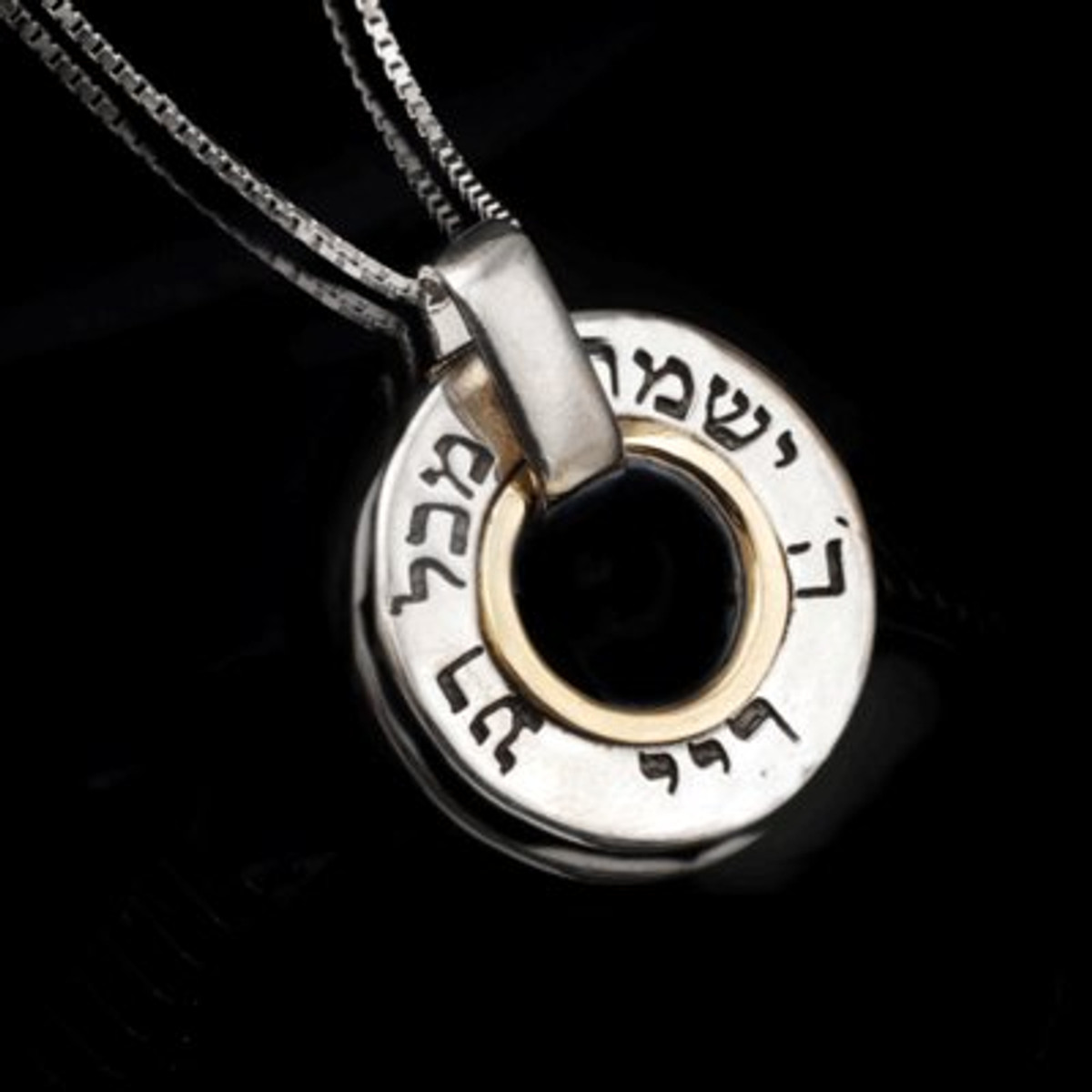 Kabbalah Jewelry Amulet Pendant For Peace And Protection With 72 Names Of God - One Left