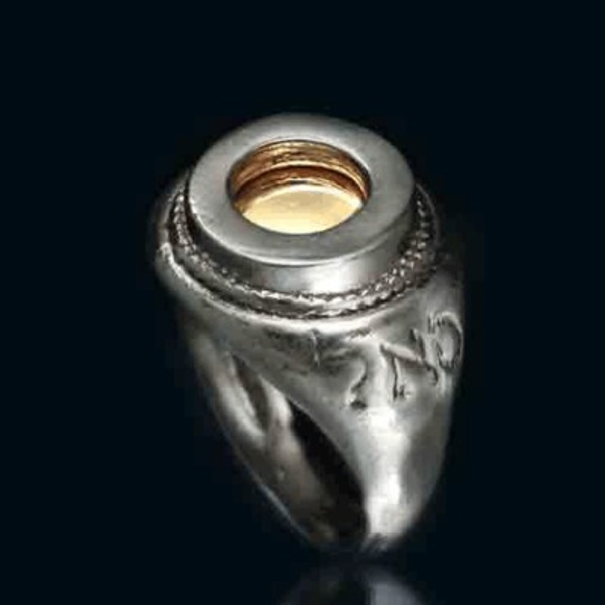 Five Metals Eye Ring Amulet For Success