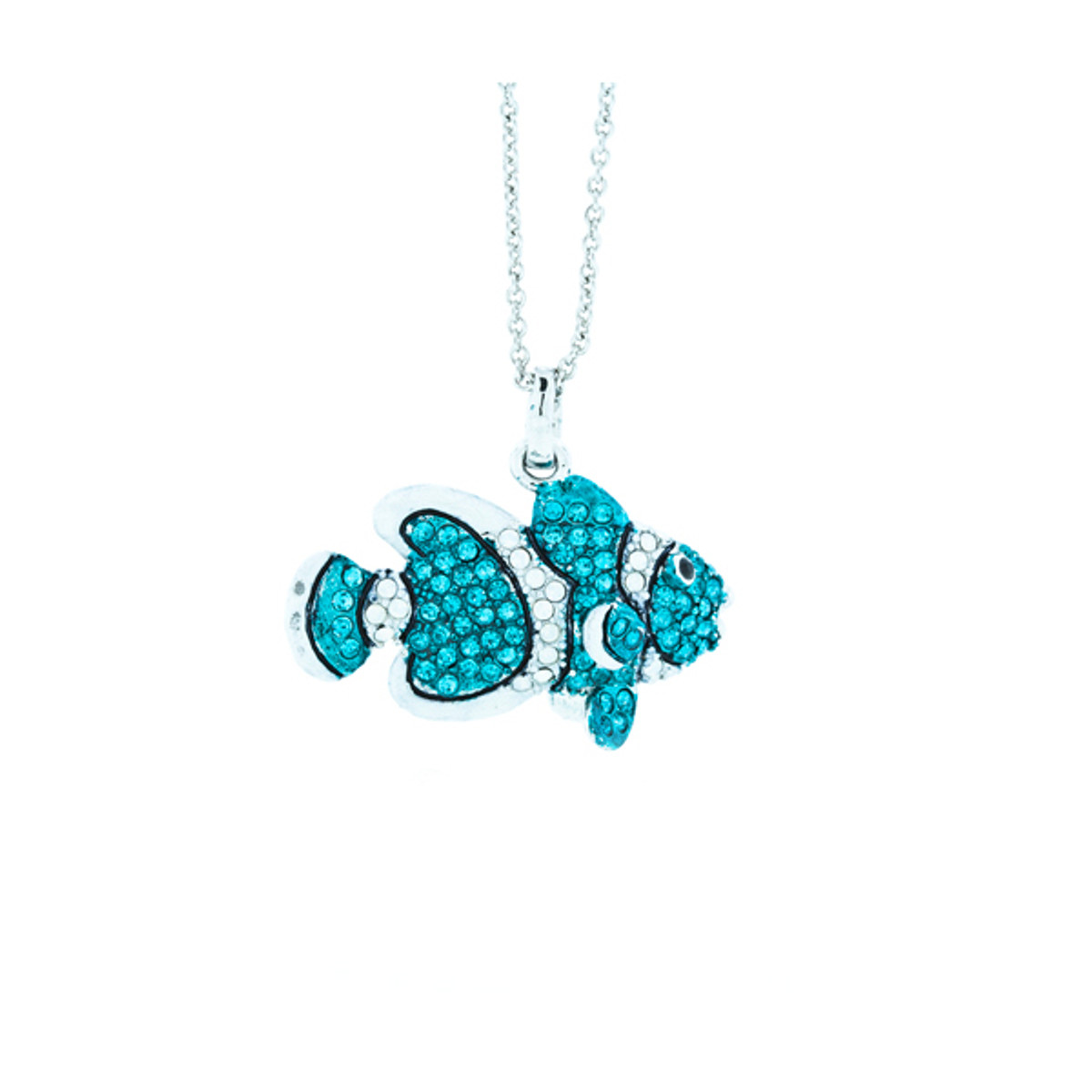A Beautiful Clown Fish Necklace Blue Necklace From Andrew Hamilton Crawford Jewelry