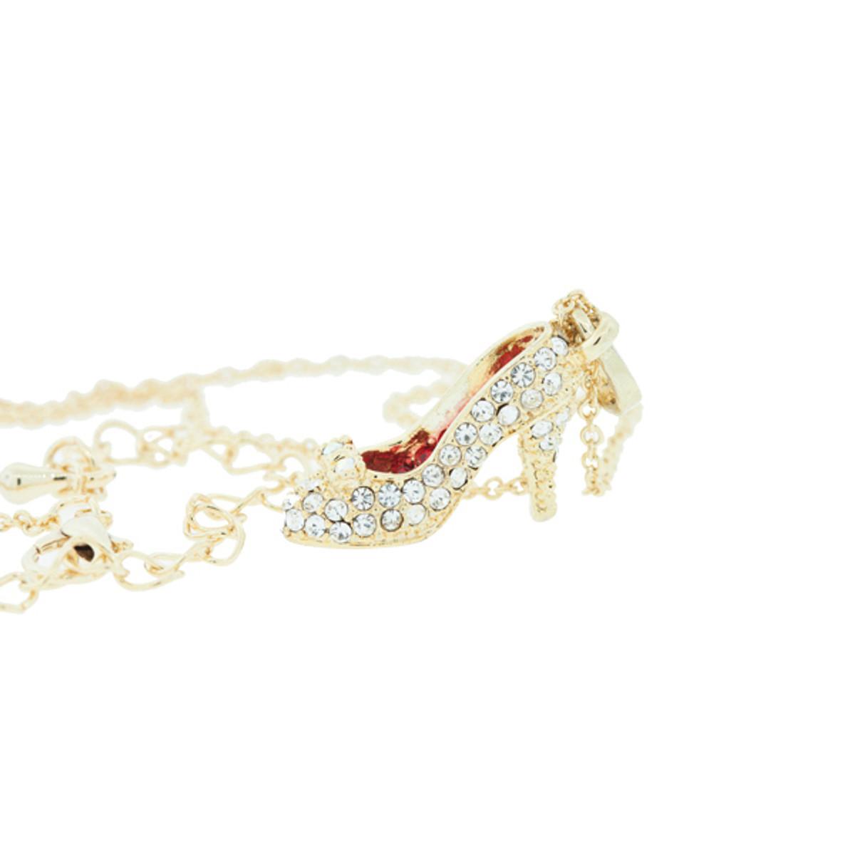 Hamilton Crawford Dorothy Shoe Necklace Gold Necklace