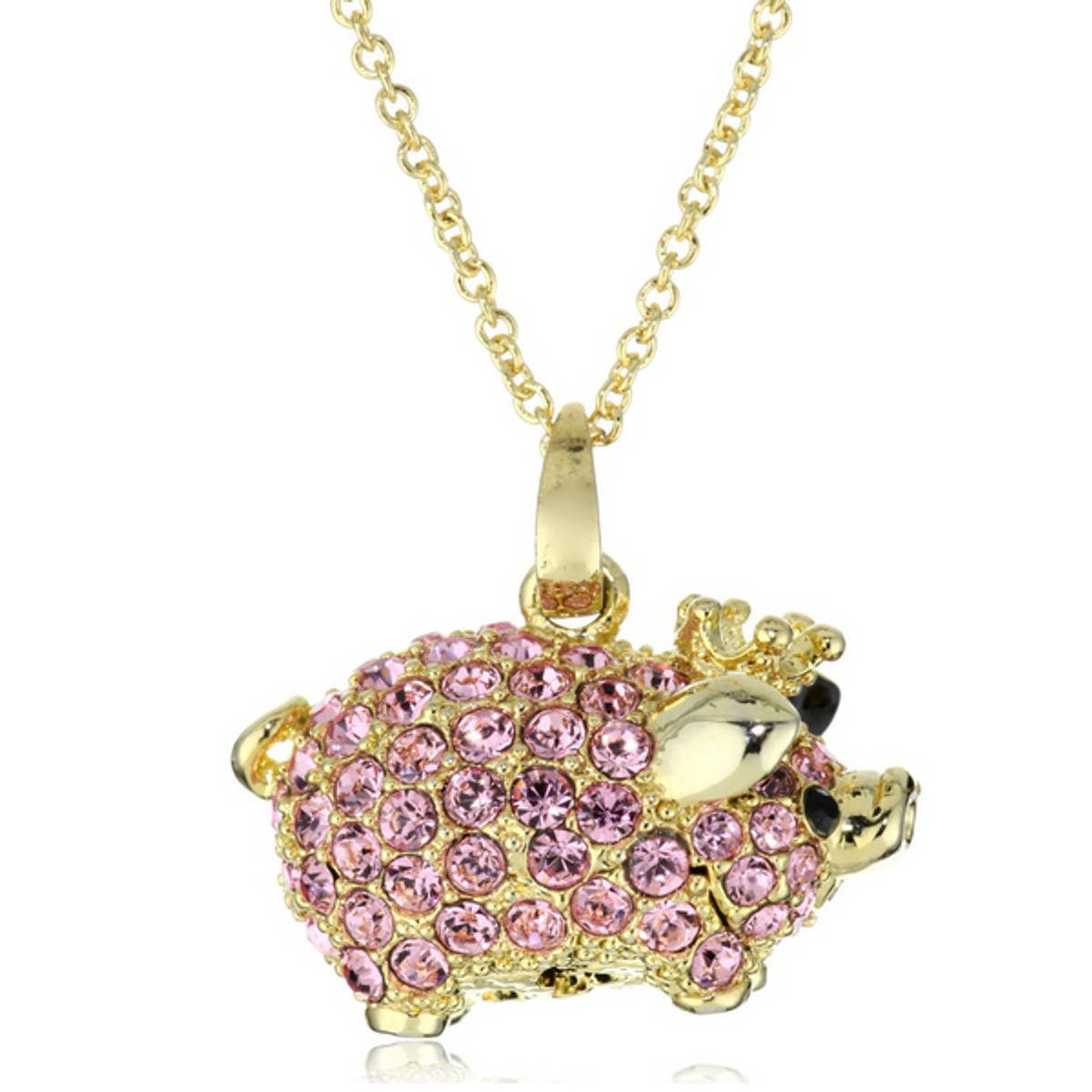 A Special Princess Pig Necklace Necklace From Andrew Hamilton Crawford Jewelry
