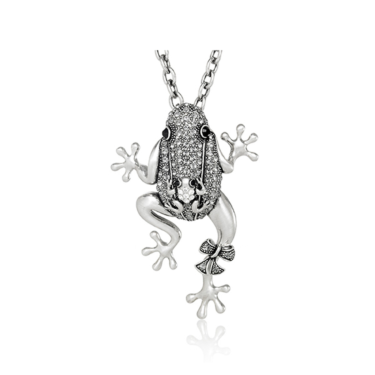 A Unique Mama Frog Necklace Necklace From Andrew Hamilton Crawford Jewelry