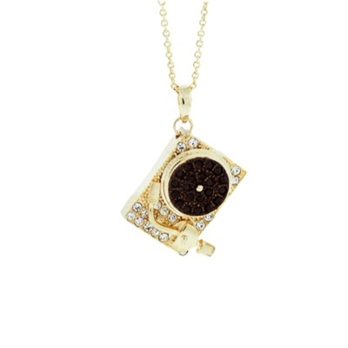A Beautiful Turntable Necklace Gold Necklace From Andrew Hamilton Crawford Jewelry