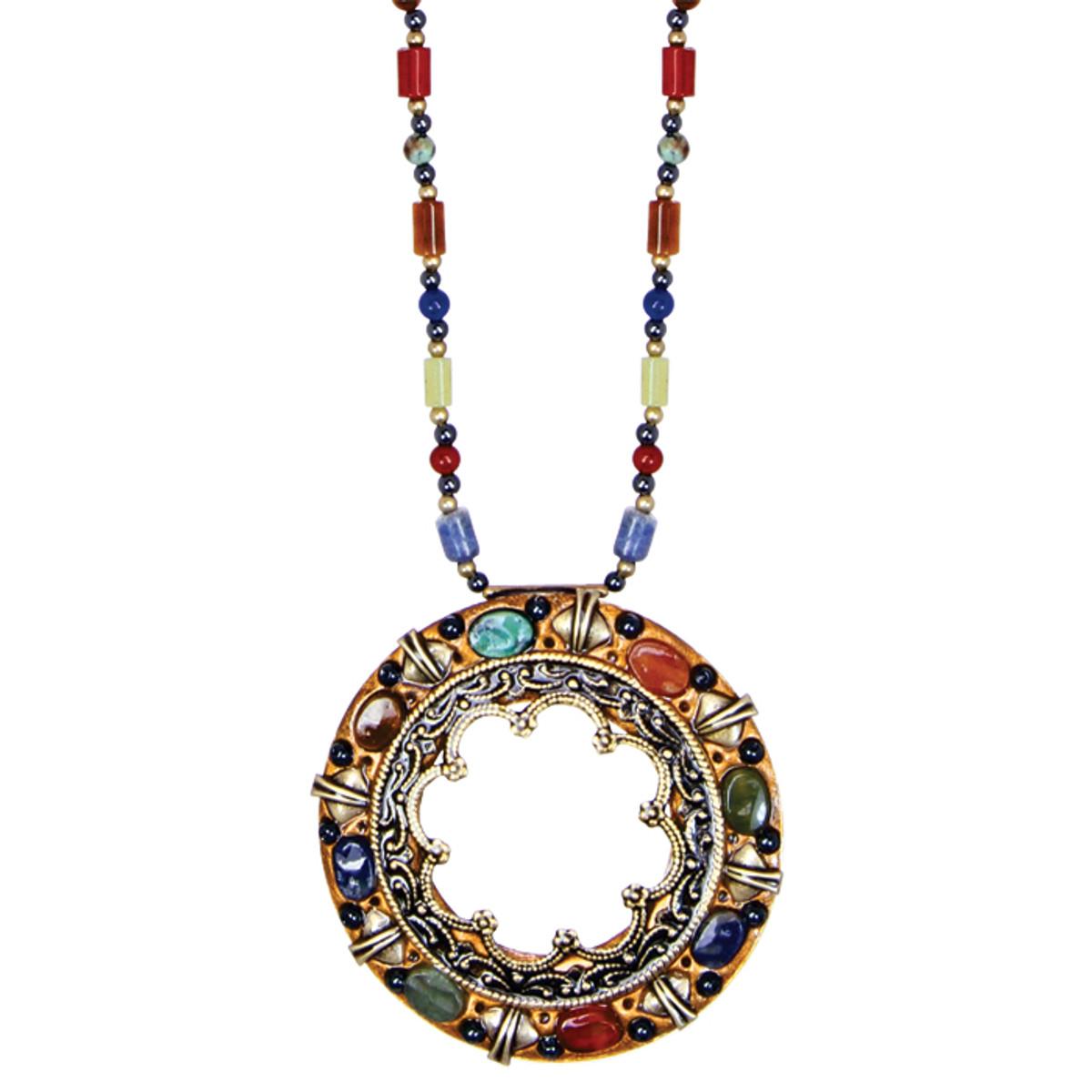 Michal Golan Necklace - Durango Large Open Circle