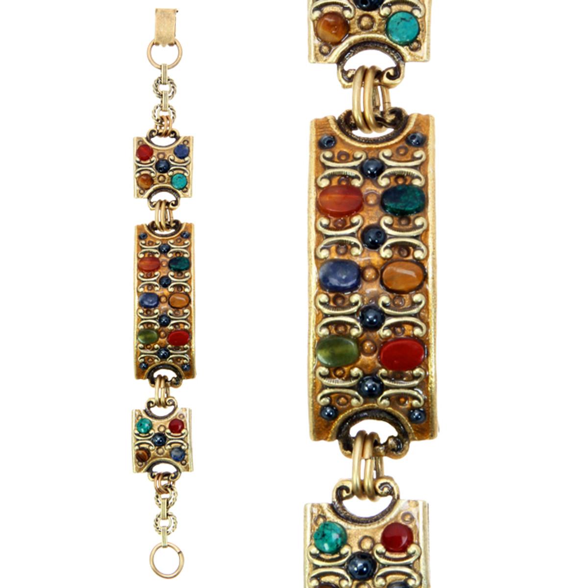 Michal Golan Jewelry Durango 3 Square Bracelet