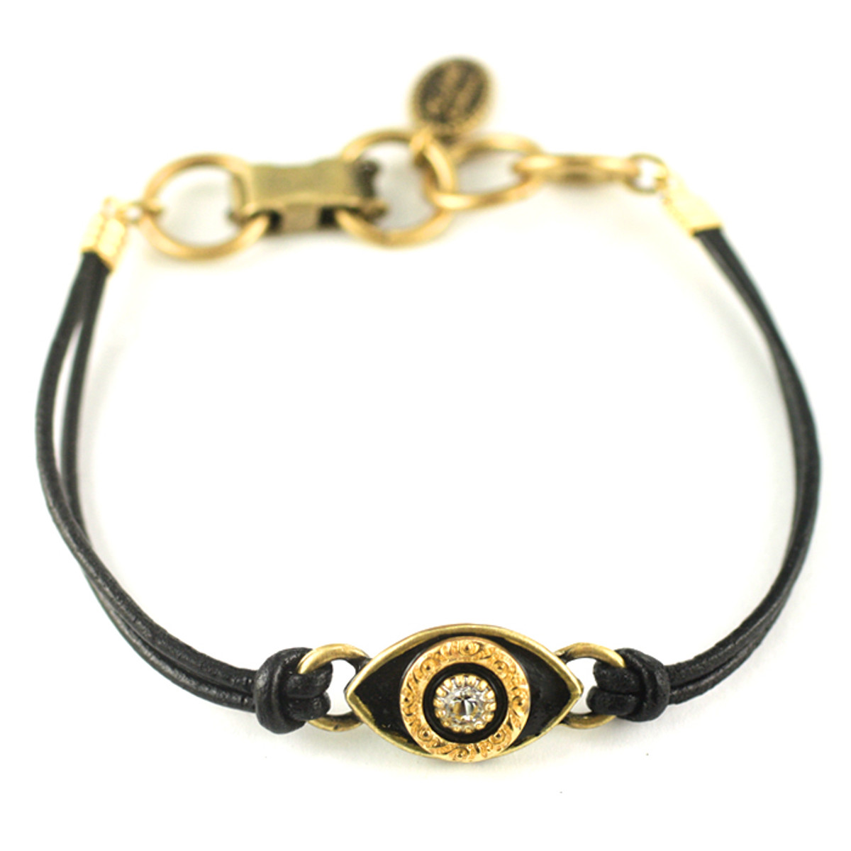 Evil Eye Bracelet From Michal Golan - Black, Medium Eye