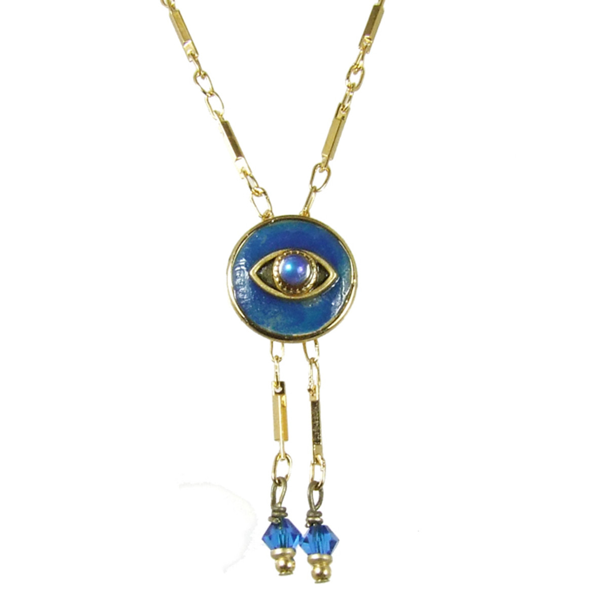 Evil Eye Necklace - Michal Golan Dark Blue