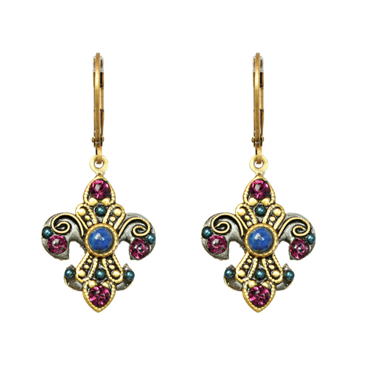 Michal Golan Jewelry Florence Fleur De Lis Earring