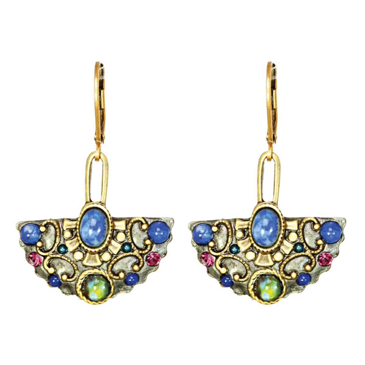 Michal Golan Jewelry Florence Fan Wire Earring