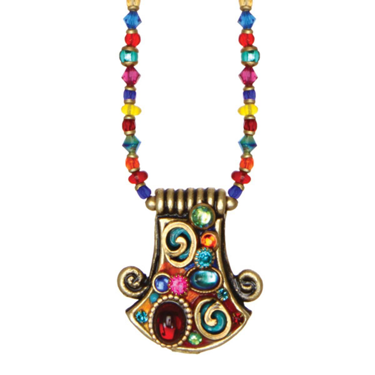 Michal Golan Confetti Bell Necklace