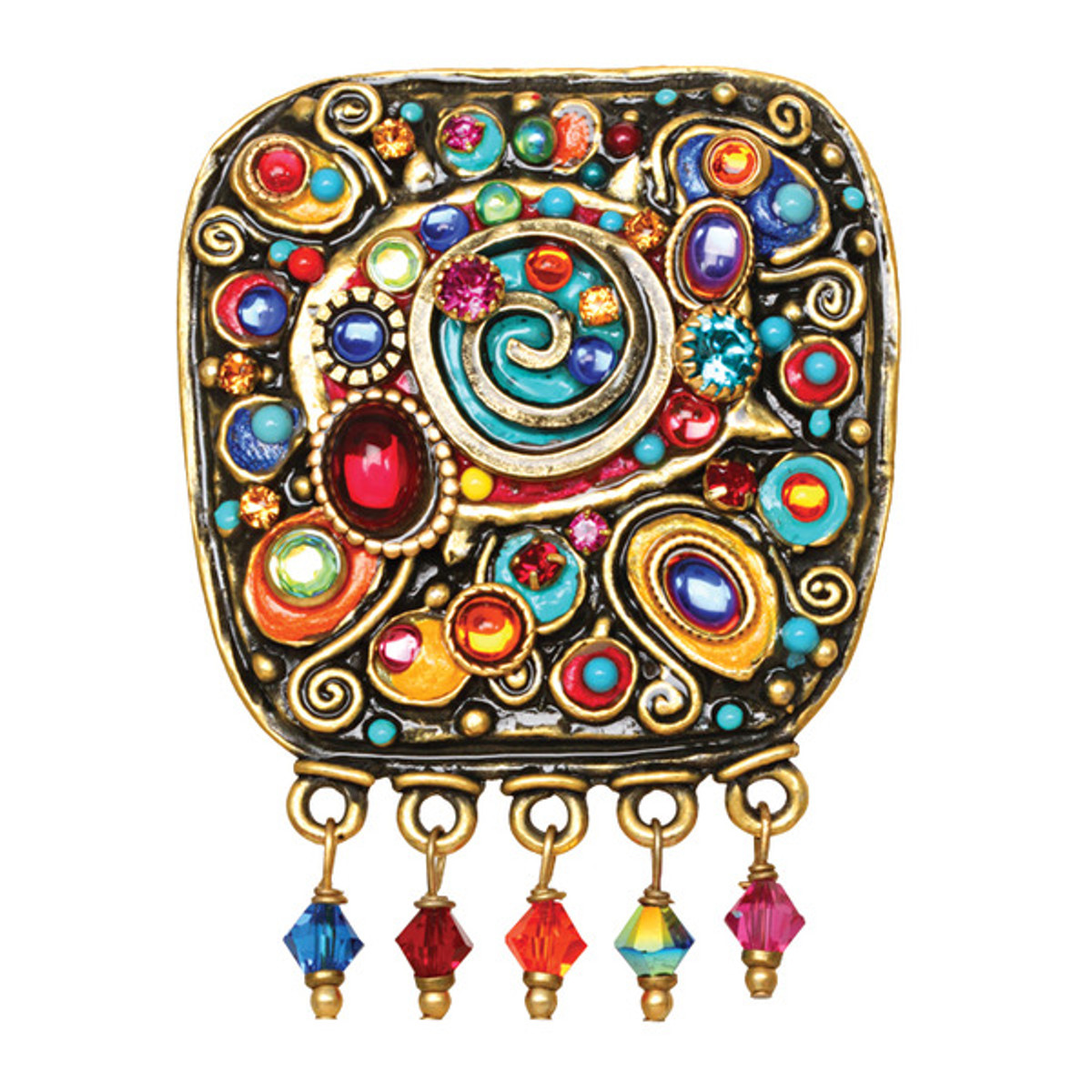 Michal Golan Jewelry Confetti Brooch
