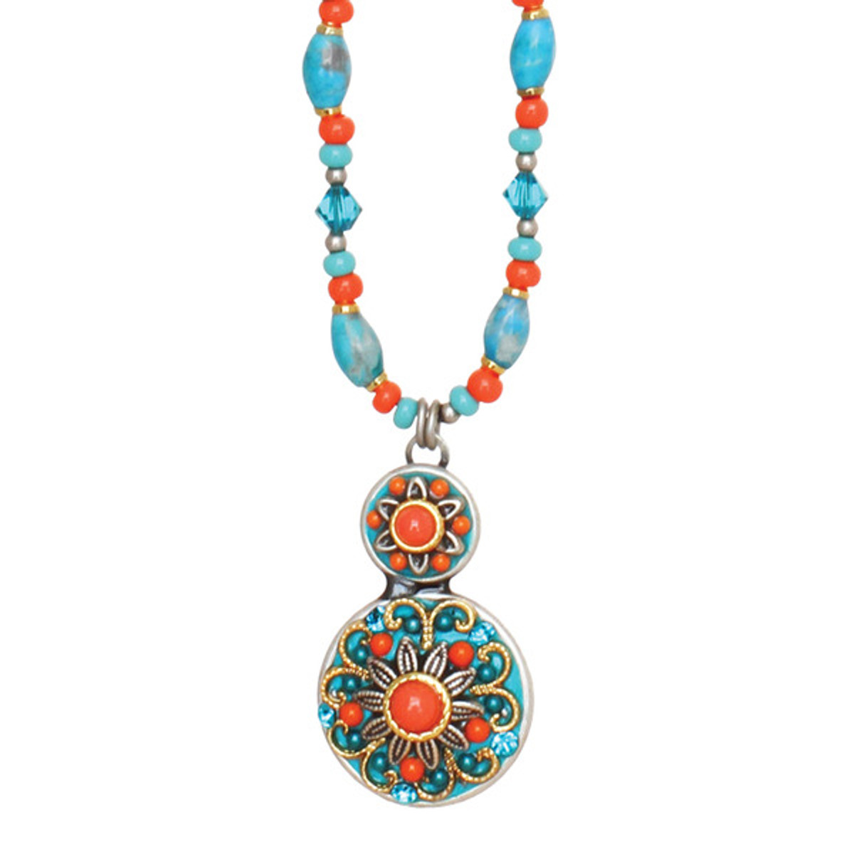 Michal Golan Necklace Beaded Chain