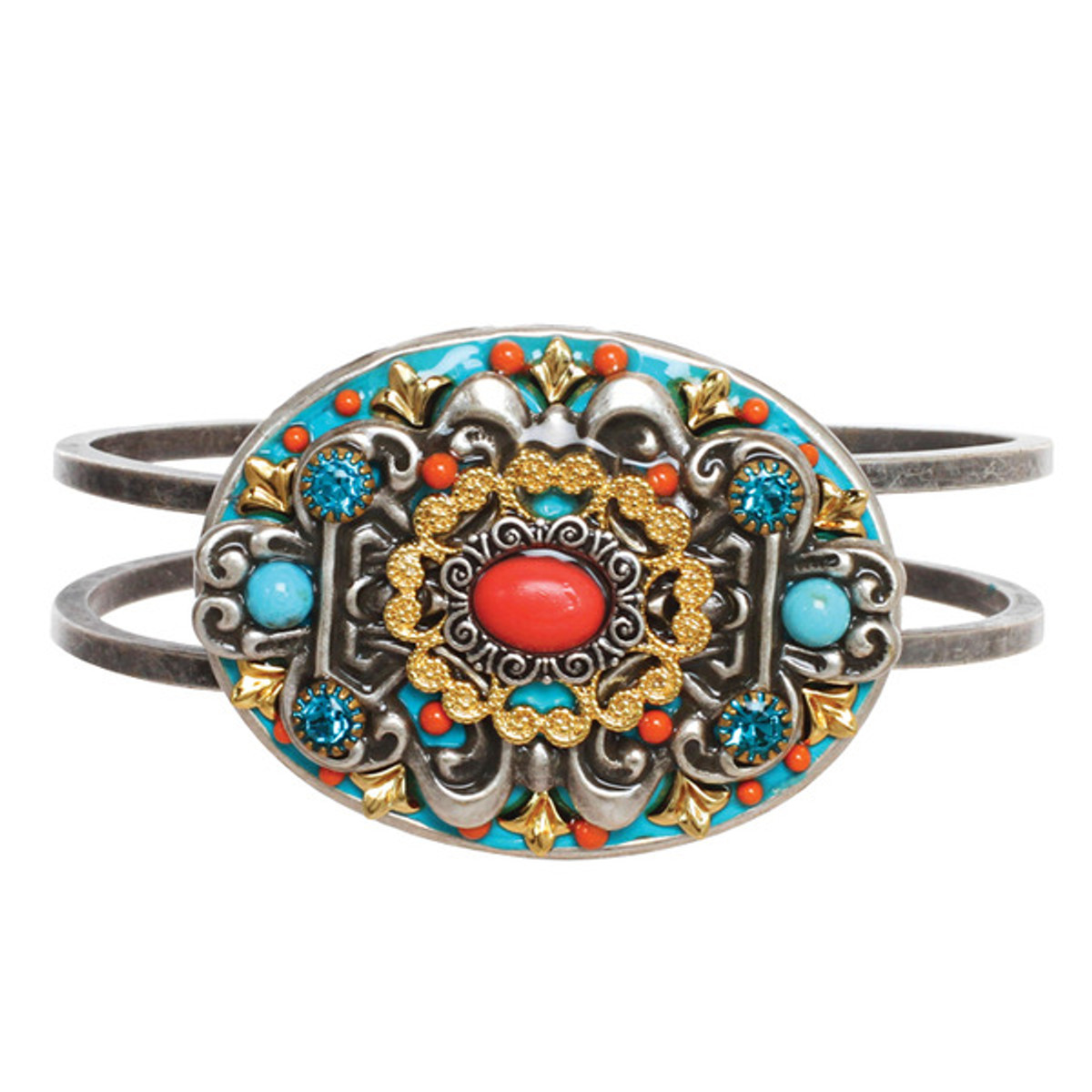 Michal Golan Coral Sea Oval Bangle