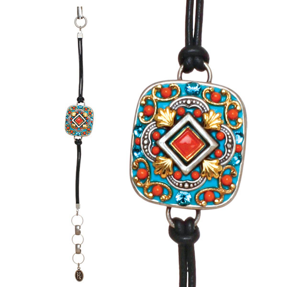 Michal Golan Coral Sea Square Bracelet