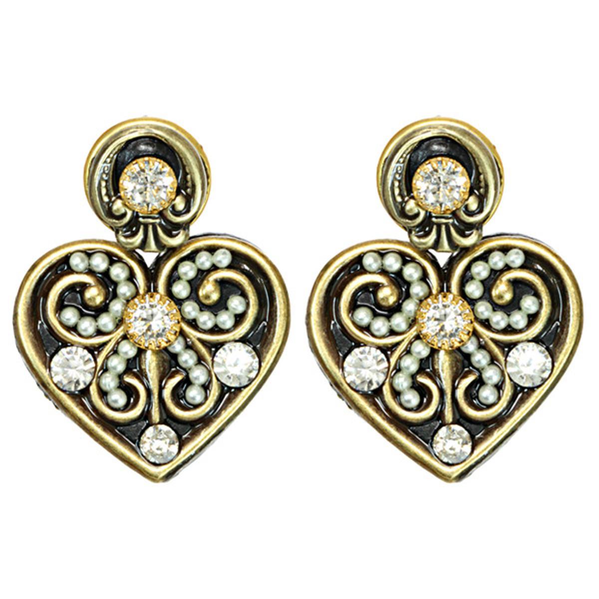 Lovely Deco Earrings By Michal Golan Jewelry