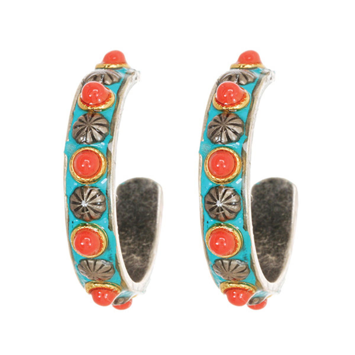 Michal Golan Jewelry Coral Sea Earrings - S7643