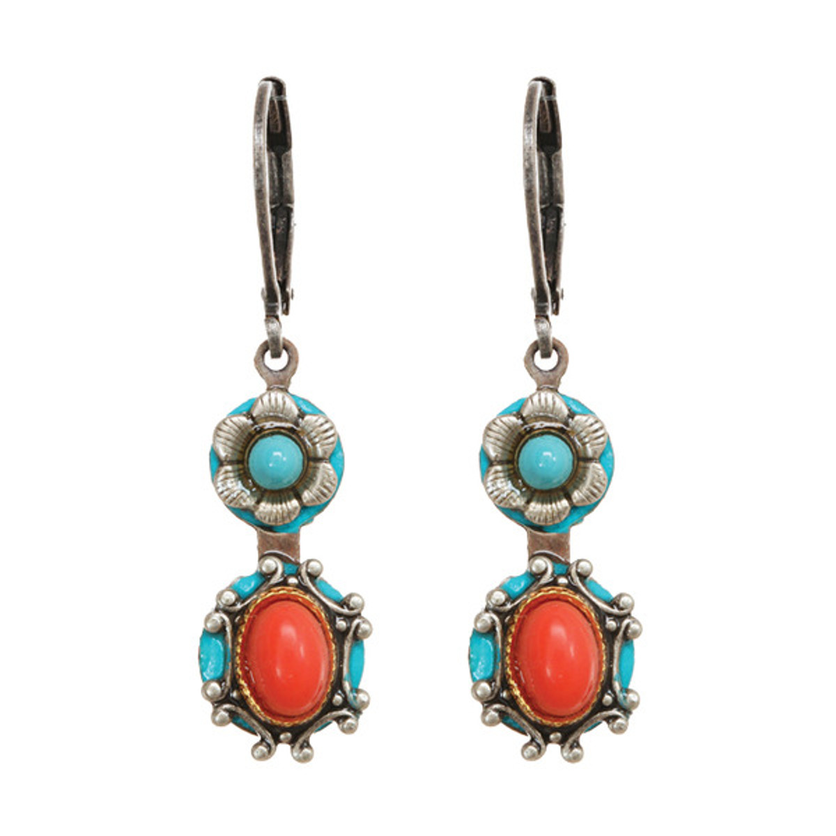 Michal Golan Earrings Coral Sea - S7646