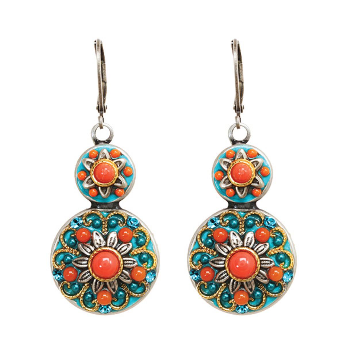 Michal Golan Coral Sea Earrings - S7672