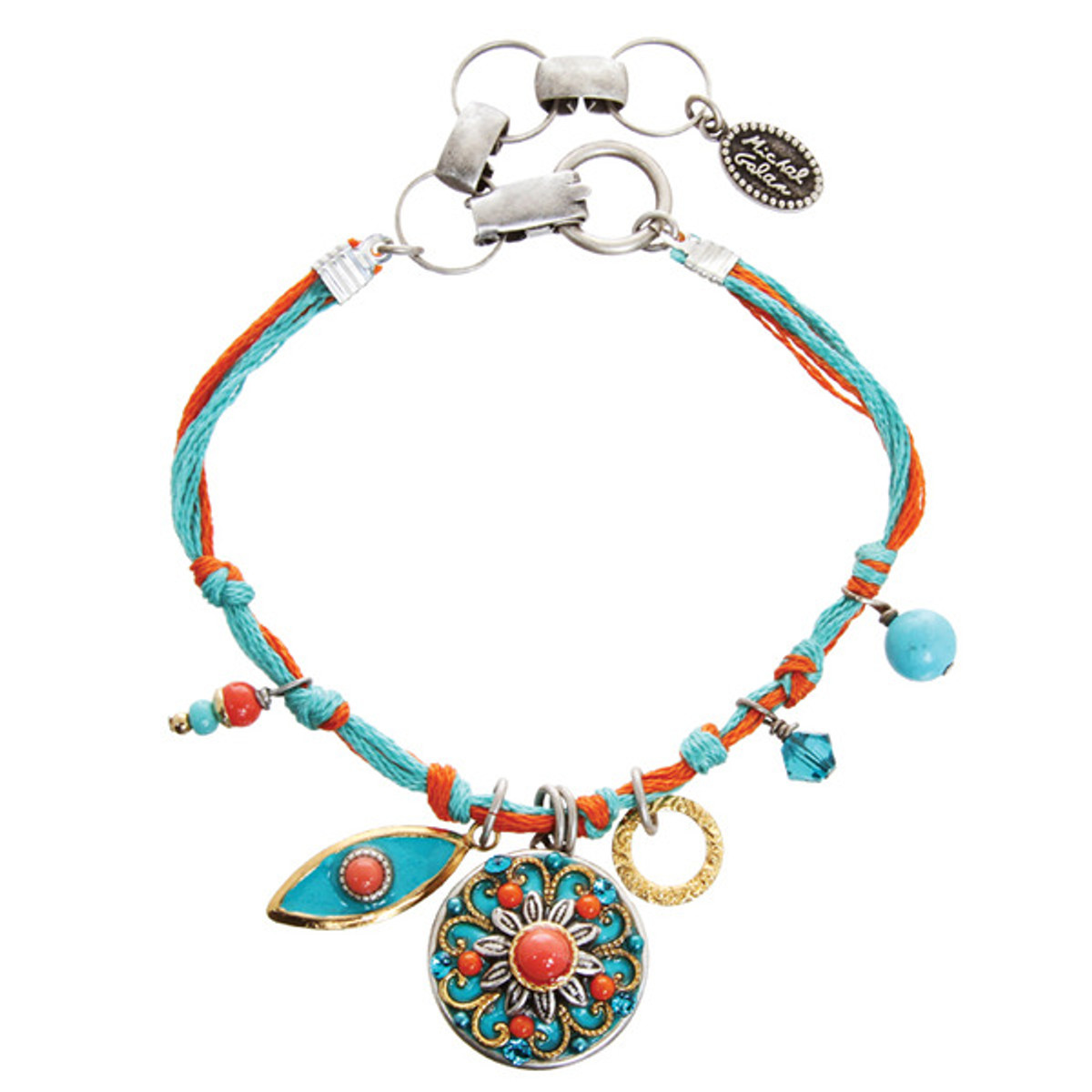 A Lovely Coral Sea Bracelet From Michal Golan Jewelry