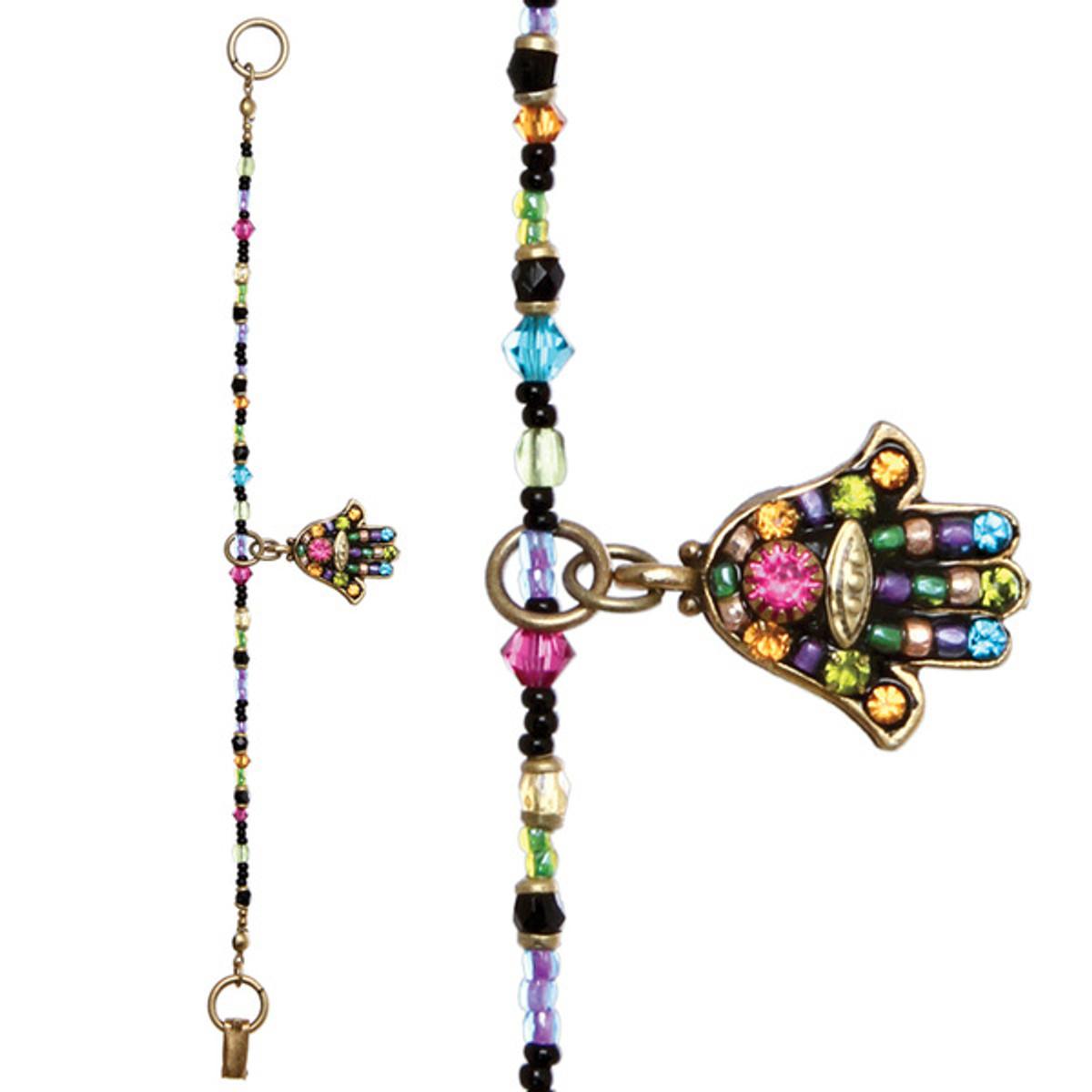 Multi Black Hamsa Bracelet