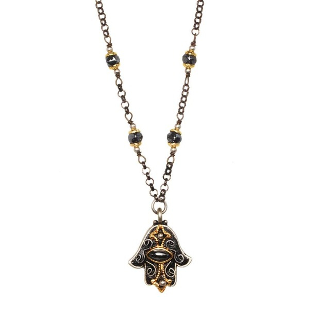Golan Jewelry Evil Eye Hamsa Necklace