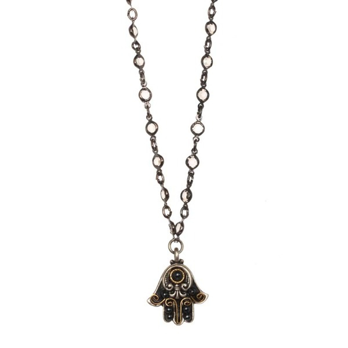 Hamsa Necklace By Michal Golan - N3341
