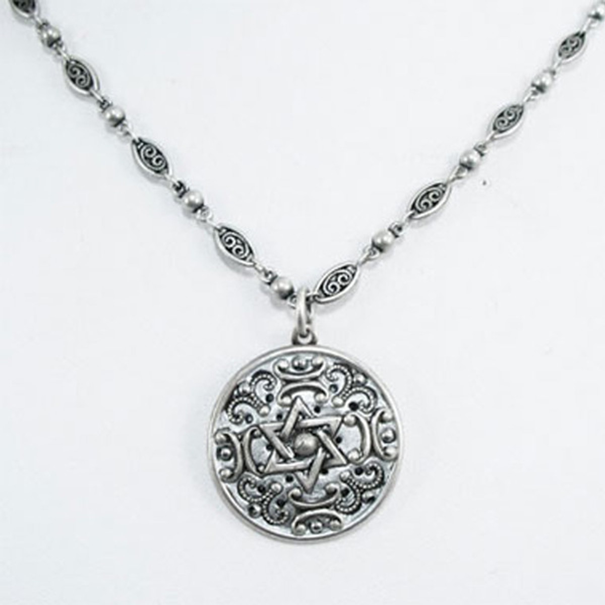 Floral Pattern Necklace By Michal Golan