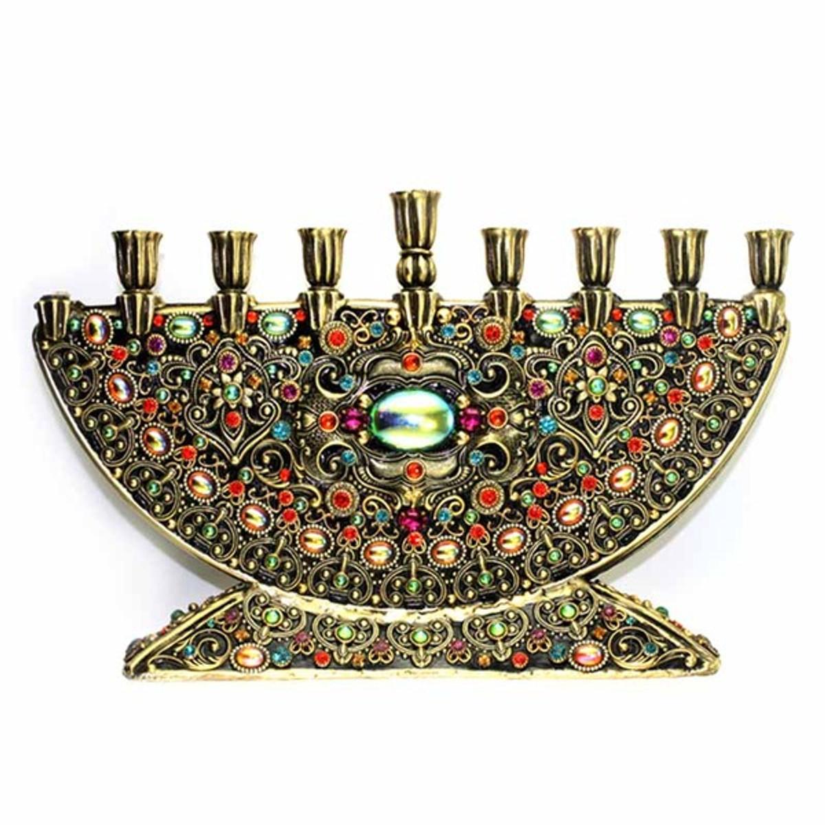 Michal Golan Jewish Menorah
