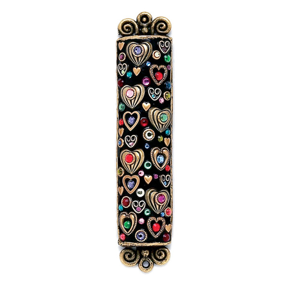 Rainbow Crystals Mezuzah By Michal Golan