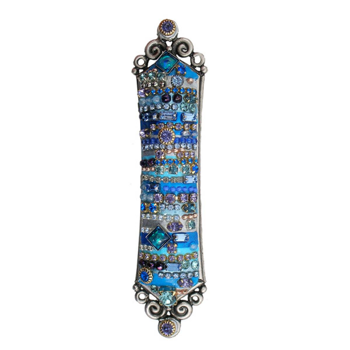 Antique Silver Mezuzah
