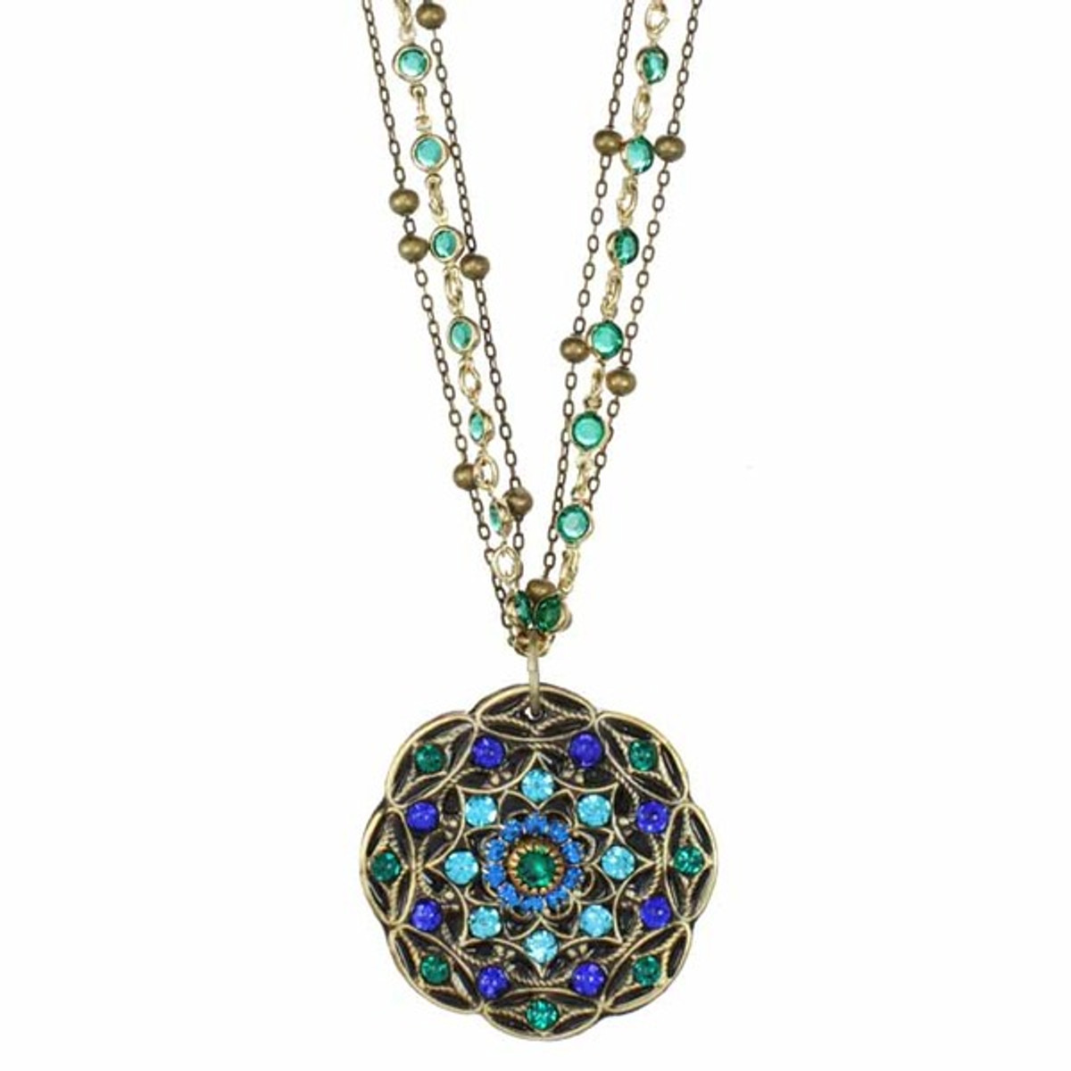 Peacock Necklace From Michal Golan Jewellery
