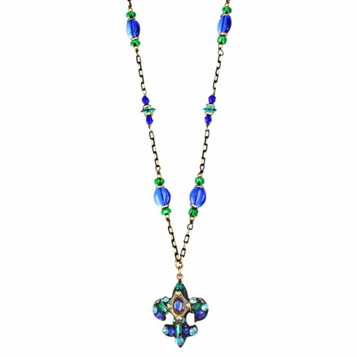 Peacock Necklace By Michal Golan - N3276