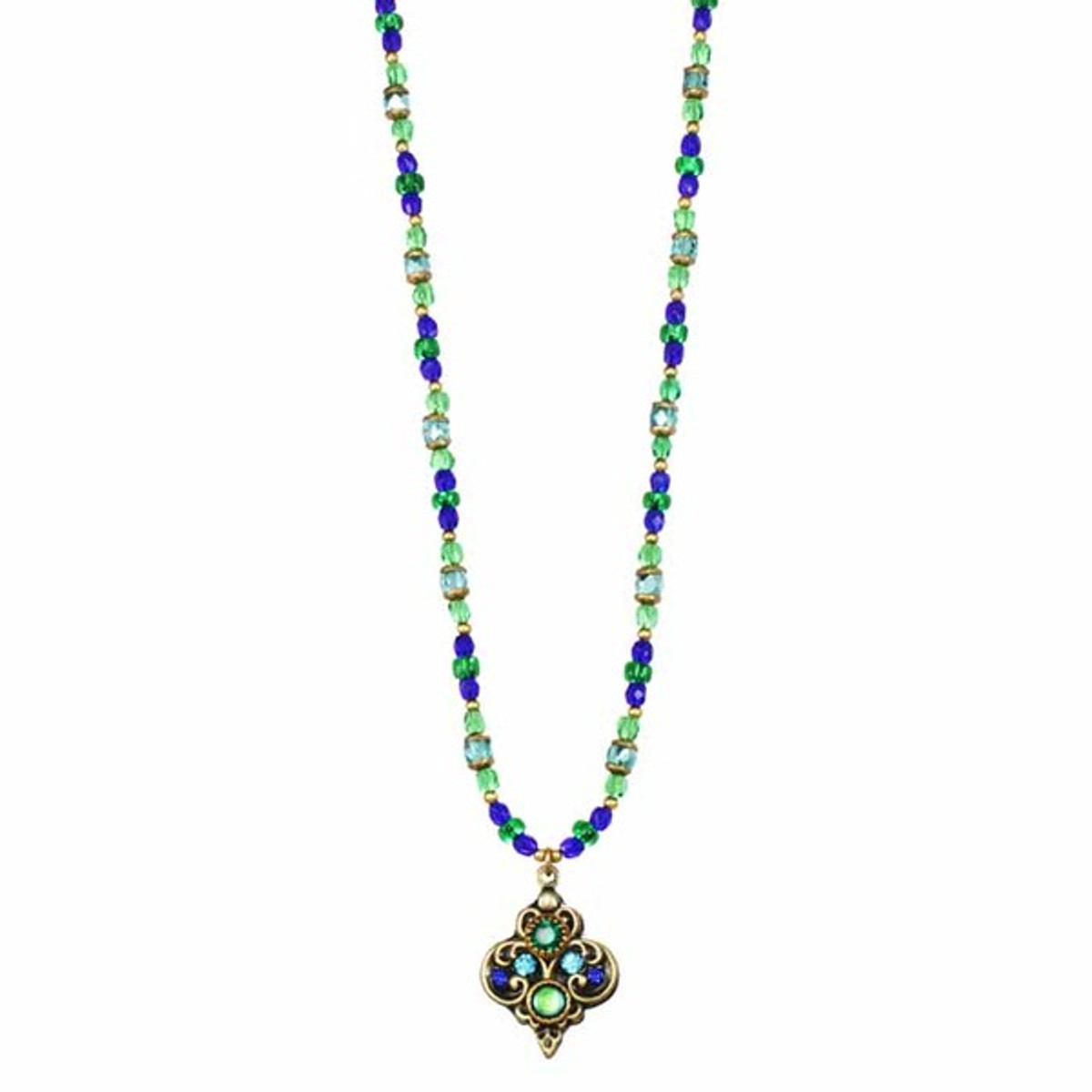 Peacock Necklace By Michal Golan Jewelry