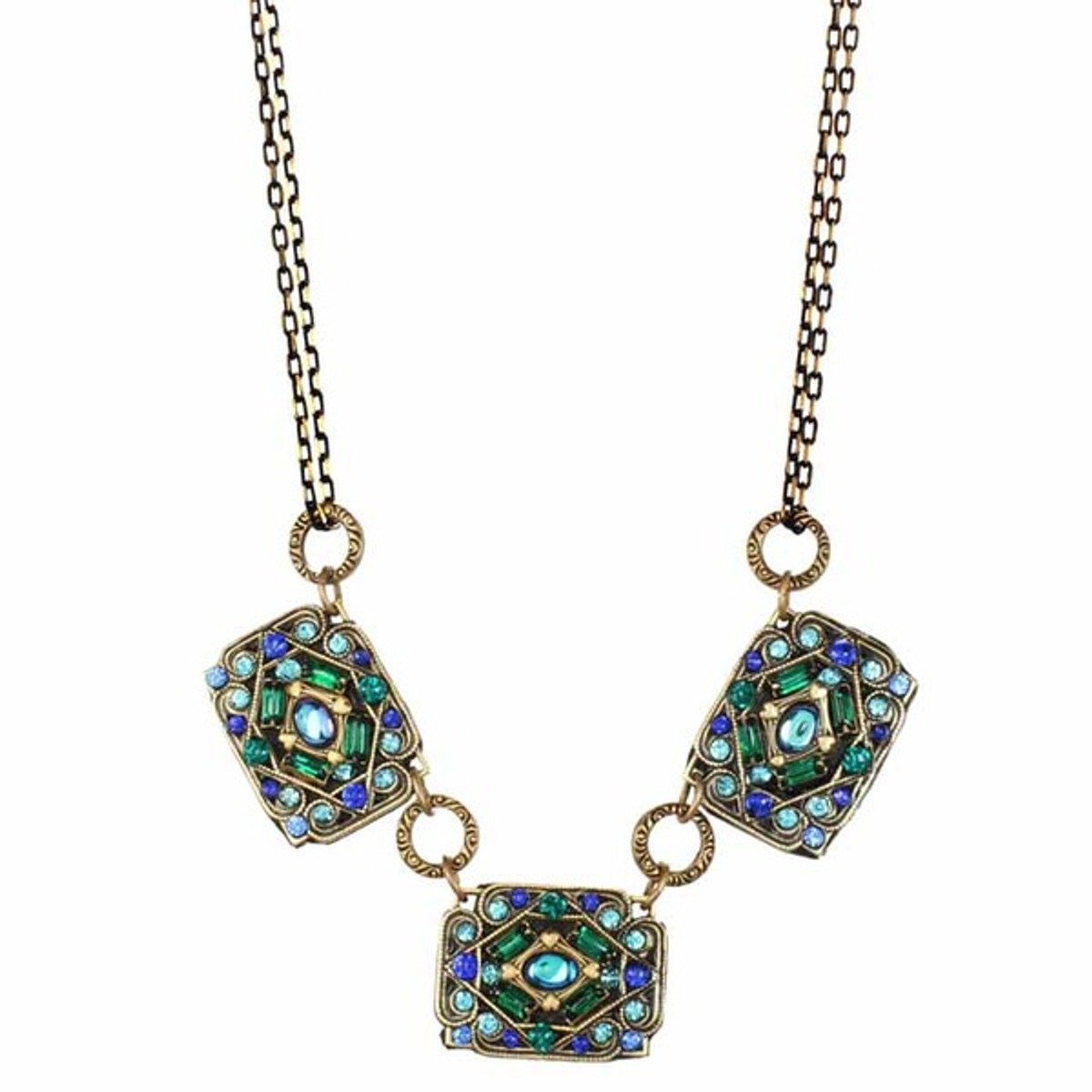 Peacock Necklace By Michal Golan - N3280