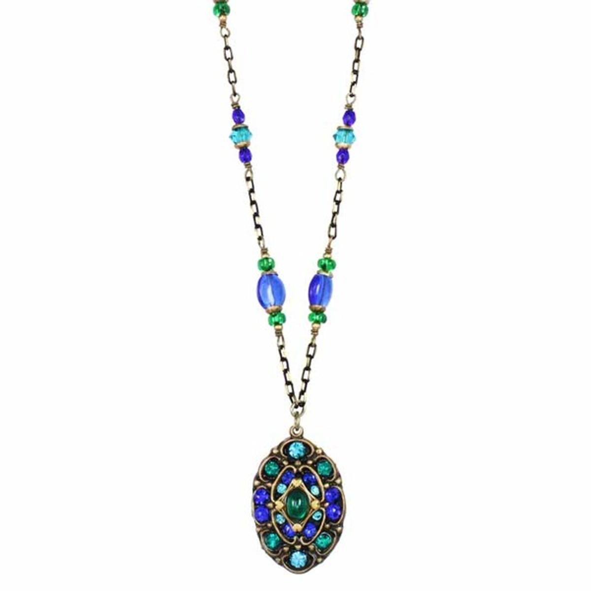 Golan Michal Peacock Necklace