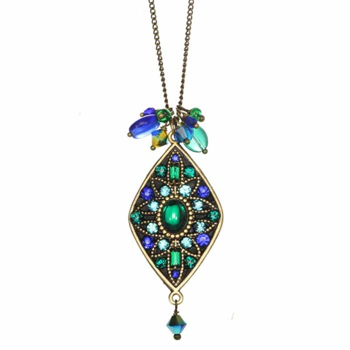 Golan Jewelry Peacock Necklace