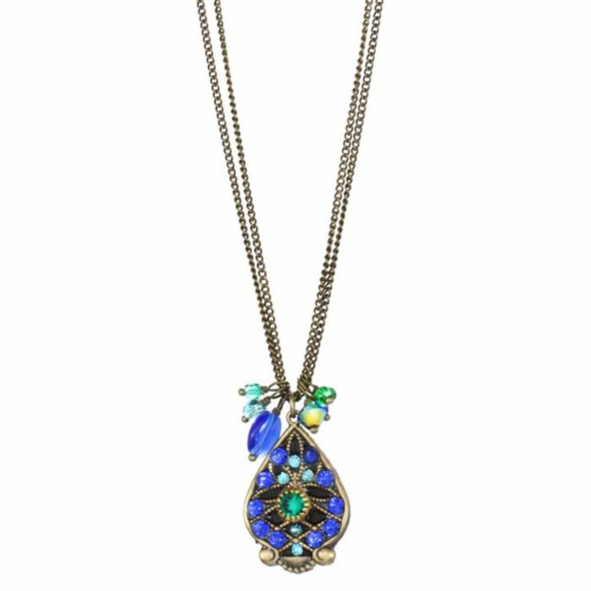 Peacock Necklace By Michal Golan Jewellery