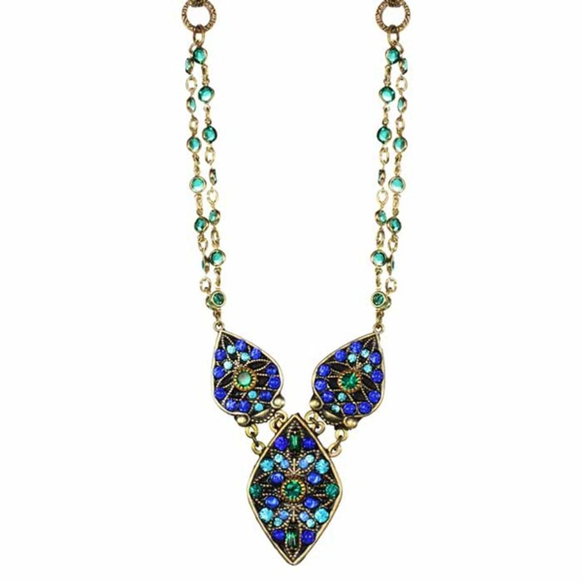 Michal Golan - Peacock Necklace