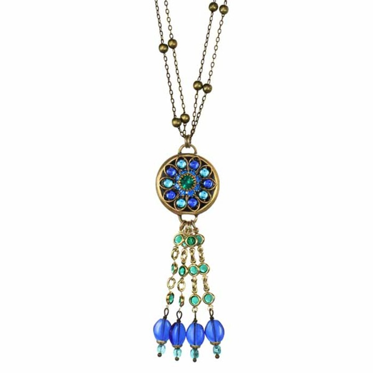 Peacock Necklaces By Michal Golan Jewelry
